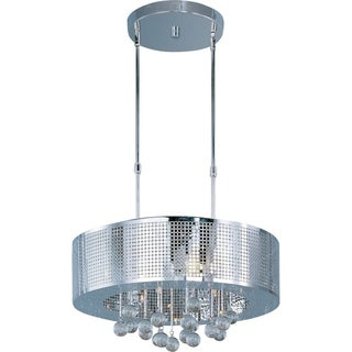 Maxim Lighting Illusion 9-light Single Pendant - Silver