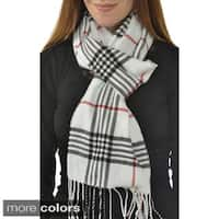 Leisureland Unisex Plaid Scarf