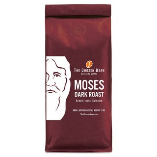 The Moses Roast Blend Micro Roasted 12-ounce Gourmet Ground Coffee