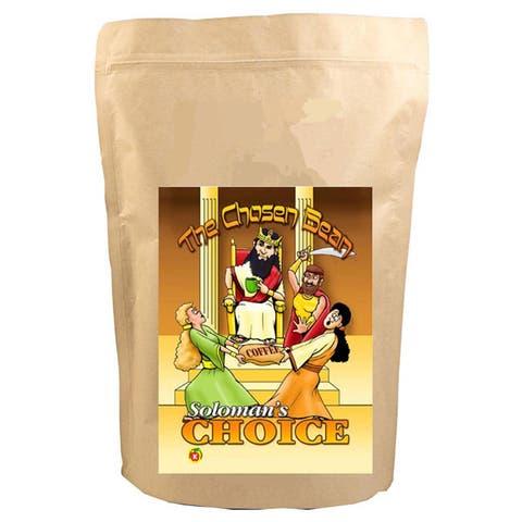 Solomon's Choice Blend Micro Roasted 12-Ounce Gourmet Whole Bean Coffee