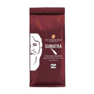 The Chosen Bean Sumatra Single-Origin Micro-roasted Medium Roast Gourmet Whole Bean Coffee