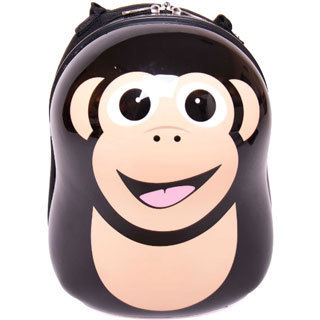 Cuties and Pals Cheeki Chimp Kids Hardside Backpack