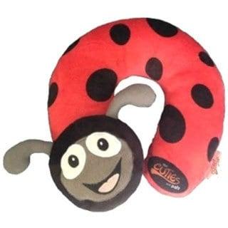 Cuties and Pals Polka Ladybird Kids Neck Pillow