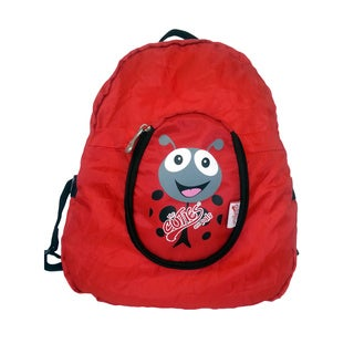 Cuties and Pals Polka Ladybird Kids Foldable Backpack