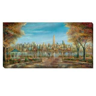 Ruane Manning 'New York View ' Canvas Art