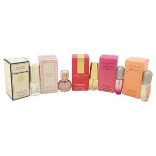 Estee Lauder The Fragrance Collection Variety Women's 5-piece Mini Gift Set|https://ak1.ostkcdn.com/images/products/9665190/P16846568.jpg?impolicy=medium