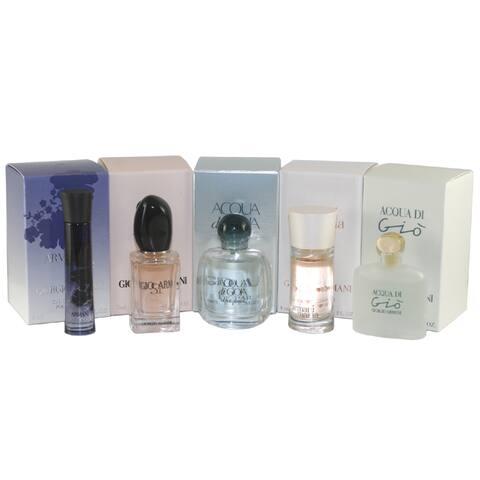 Giorgio Armani Variety Women's 5-piece Mini Gift Set