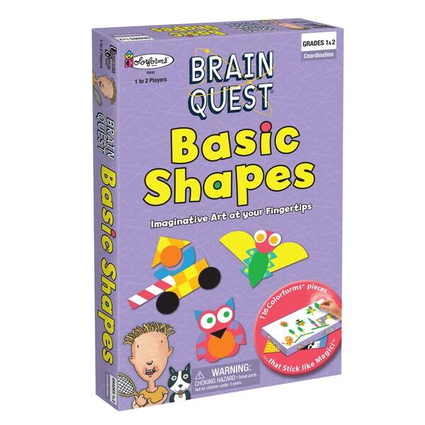 Brain Quest Basic Shapes Colorform Art