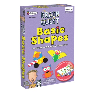 Brain Quest Basic Shapes Colorform Art