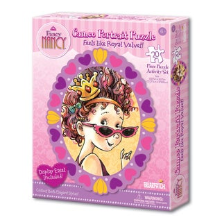Fancy Nancy Cameo Portrait Activity Set Sunglasses 20-piece Puzzle