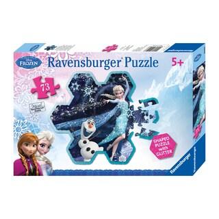 Disney Frozen Elsa's Snowflake 73-piece Puzzle - Multi