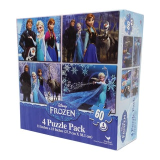 Disney Frozen 60-piece Puzzle (Pack of 4)