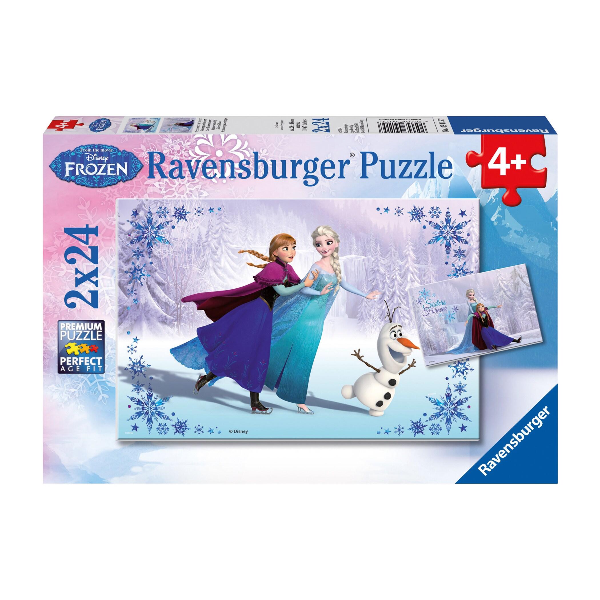 Ravensburger Disney Frozen Sisters Always 24-piece Puzzle...