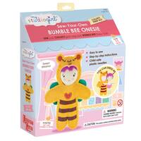 My Studio Girl Sew-Your-Own Bumble Bee Bodysuit