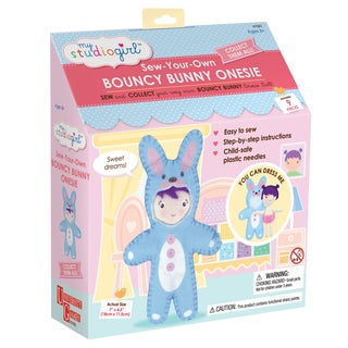 My Studio Girl Sew-Your-Own Bouncy Bunny Bodysuit