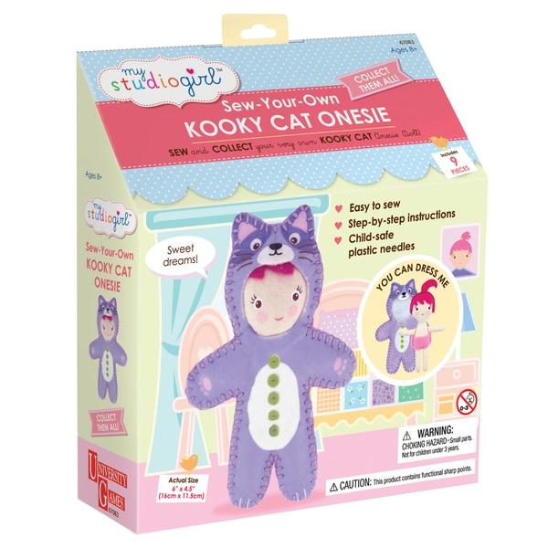 My Studio Girl Sew-Your-Own Kooky Cat Bodysuit