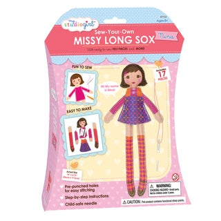 My Studio Girl Sew-Your-Own Missy Long Sox Brunette Nina