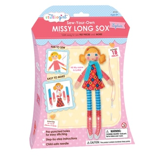 My Studio Girl Sew-Your-Own Missy Long Sox Curly Lydia