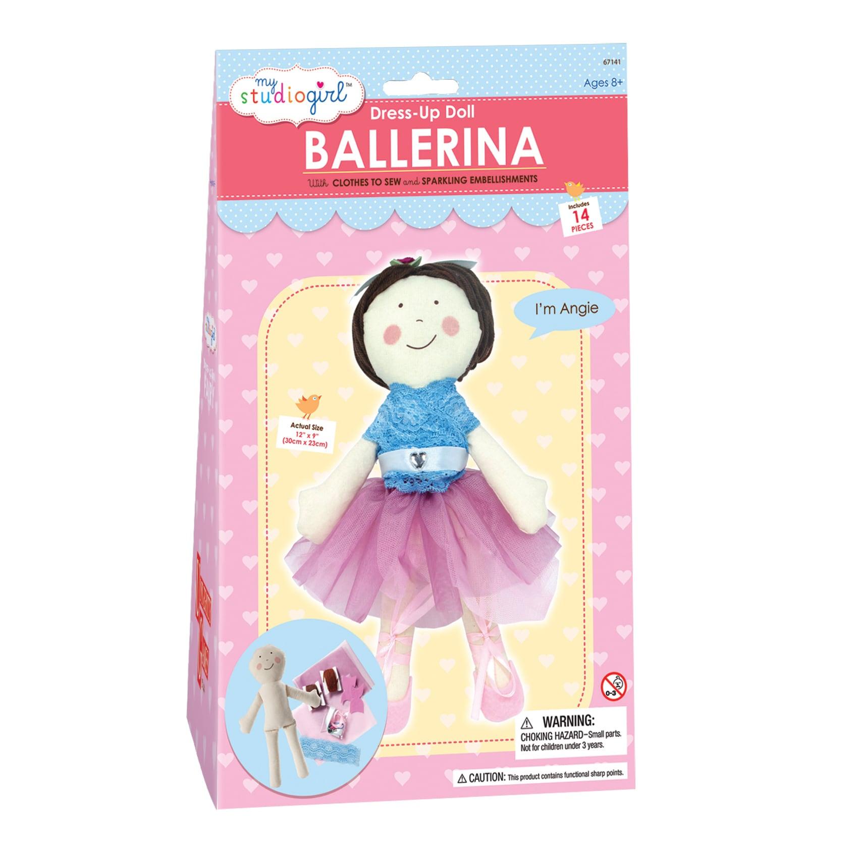 My Studio Girl Dress-Up Ballerina Doll (My Studio Girl Dr...