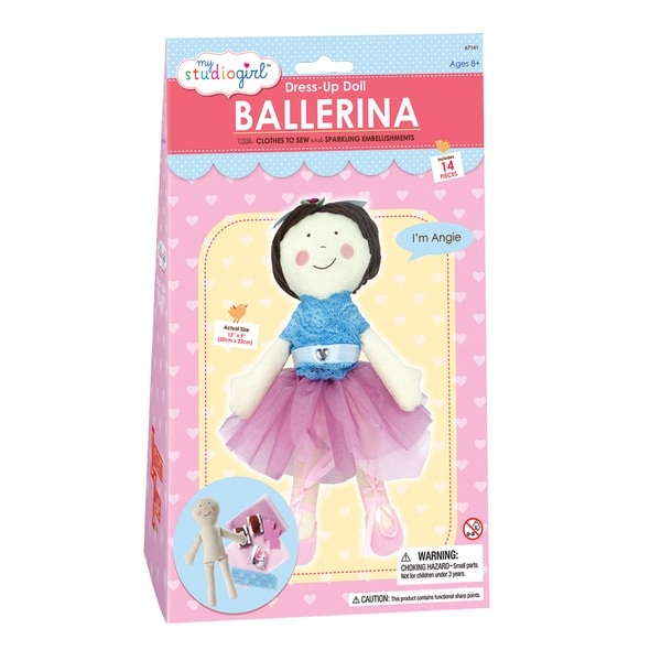 My Studio Girl Dress-Up Ballerina Doll