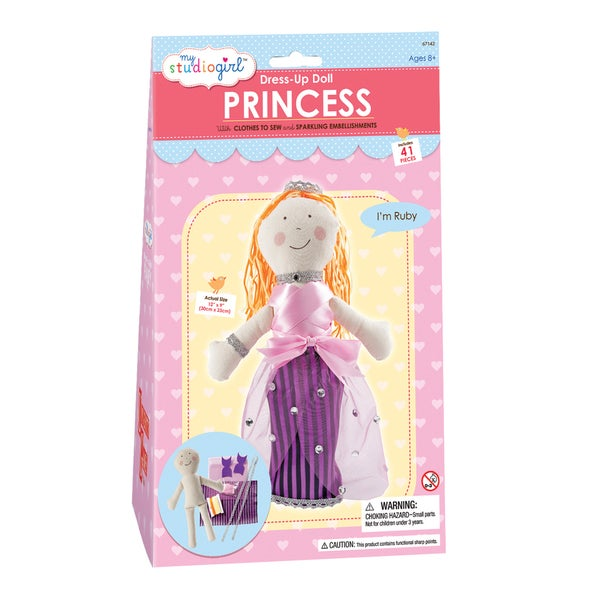 My Studio Girl Dress-Up Princess Doll