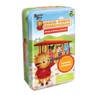 Daniel Tiger's Neighborhood Bingo and Memory Match Tin