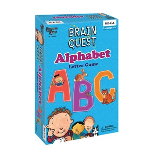 Brain Quest Alphabet Letter Game