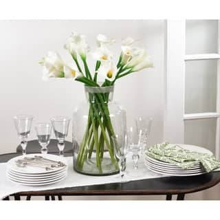 Buy artificial plants online at overstock our best decorative calla lily set of 12 mightylinksfo