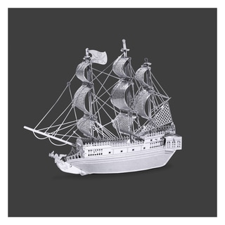Metal Earth 3D Laser Cut Black Pearl Paper Model