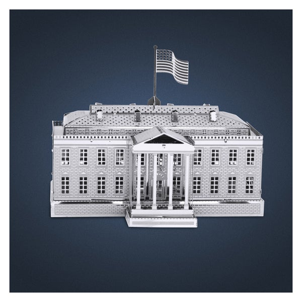 Metal Earth 3D Laser Cut White House Paper Model