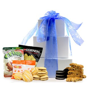 Seasons Greetings Gluten-free Large Gift Tower