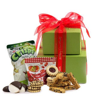 Merry Christmas Gluten-free Small Gift Tower