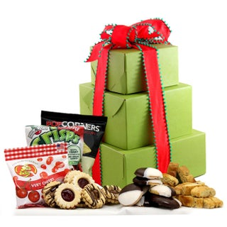 Holiday Delight Gluten-free Large Gift Tower