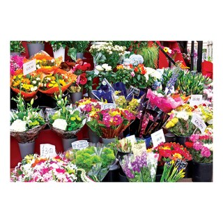 Colorluxe Colorful Market Flowers 1500-piece Puzzle