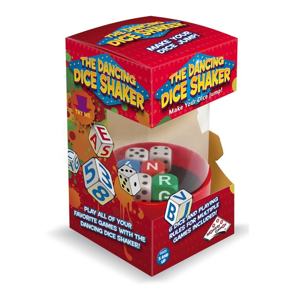 The Dancing Dice Shaker Game Accessory