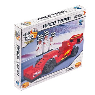 Click Brick Race Team 108-piece Puzzle