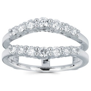 Boston Bay Diamonds 14k White Gold 1/2ct TDW Diamond Ring Insert (H-I, I1-I2)