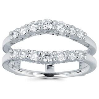 Boston Bay Diamonds 14k White Gold 1/2ct TDW Diamond Ring Insert (I, I1)