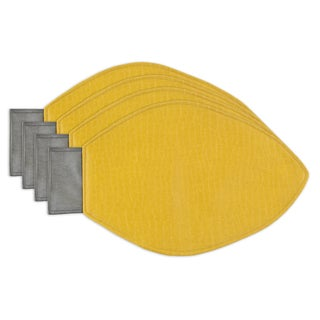 Yellow Light Bulb Placemats (Set of 4)