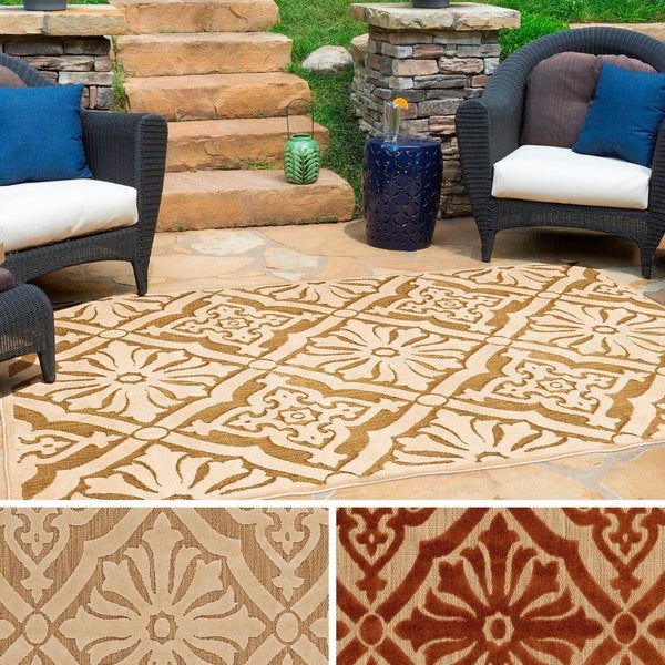 Livia Indoor Outdoor Olefin Rug 7 10 x 10 8 Free