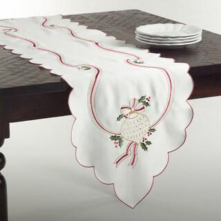 Embroidered Christmas Runner