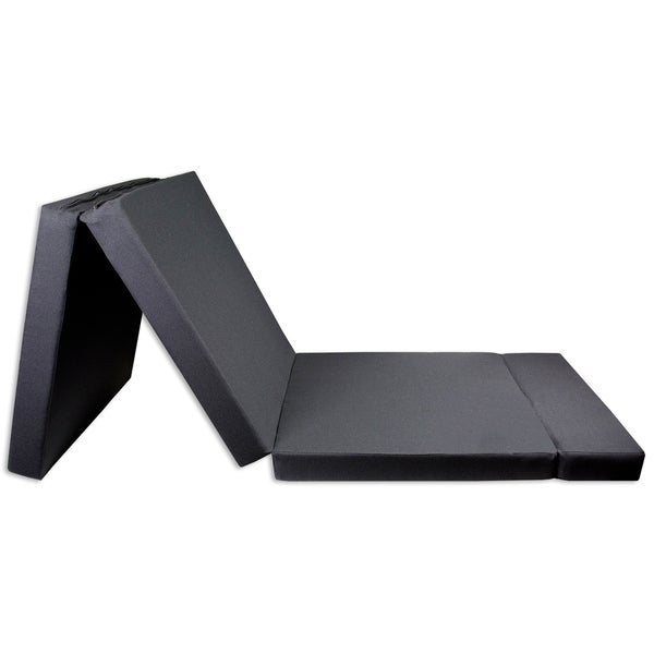 Trifold Shikibuton High-Density Foam Bed/Mat, Fold-in ...