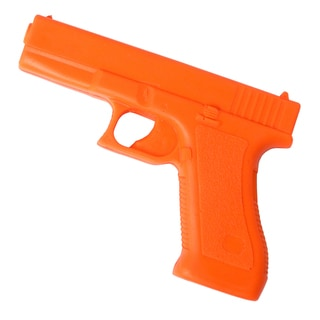 Rubber Compact 17 Training Gun Safety Orange Trainer
