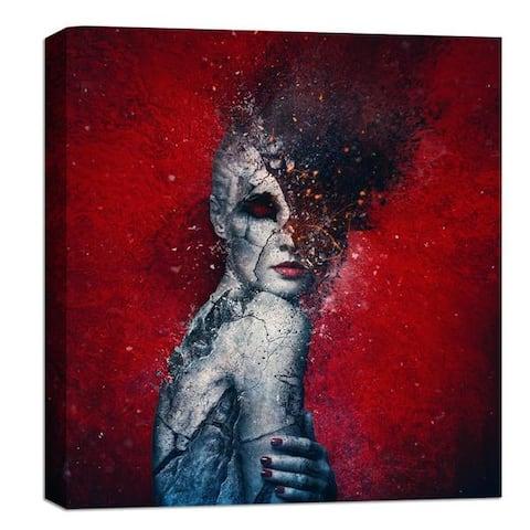 "Cortesi Home Mario Sanchez Nevado ""Indifference"" Giclee Canvas Wall Art"