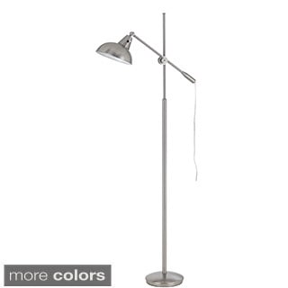 Cal Lighting Brewton Adjustable Arm Metal Floor Lamp