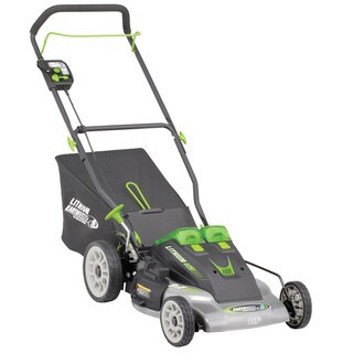 Earthwise 40-volt Lithium Ion 20-inch Cordless Electric Lawn Mower