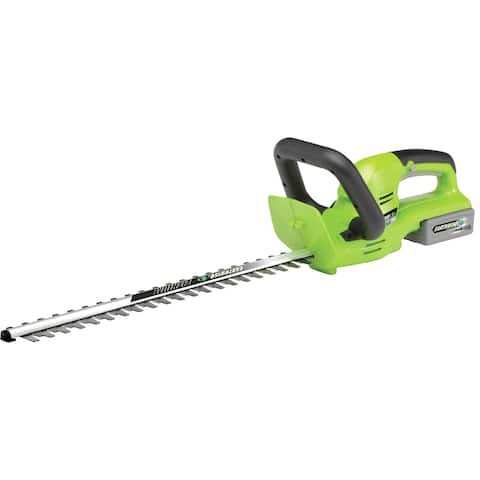Earthwise Cordless 24-volt Lithium Ion 22-inch Hedge Trimmer