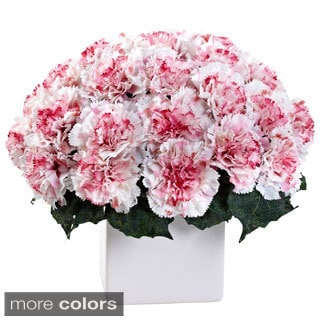 Carnation Arrangement with Vase