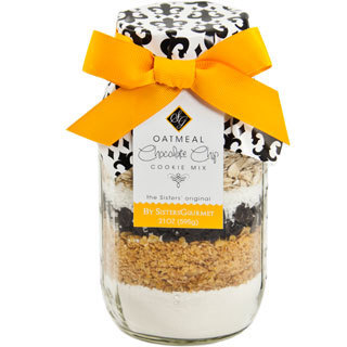 Oatmeal Chocolate Chip Cookie Mix Jar