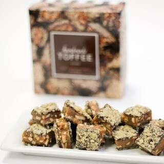 Toffee Boutique Dark Chocolate Toffee Box (Pack of 2)
